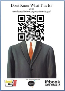 Poster example QR codes