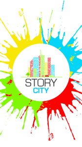 STORY CITY APP HOMESCREEN